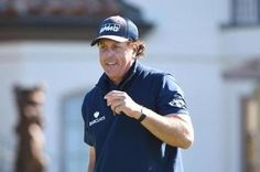 Phil Mickelson leads Pebble Beach pro-Am by two shots