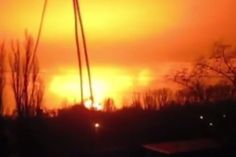 """Russia Drops """"Father Of All Bombs In Ukraine"""" - Videos  And Photos Of Massive Explosion In Ukraine!"""