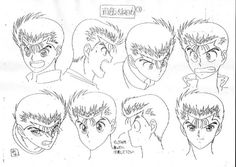 Film Anime, Manga Anime, Anime Art, Character Sheet, Character Modeling, Estilo Anime, Anatomy Drawing, Animation, Face Characters