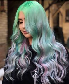 Natural ingredients🌿 ✅Fashion Hairstyle ✅Easy to apply and washable with water ✅Result of a hair salon at home Pretty Hairstyles, Straight Hairstyles, Hair Inspo, Hair Inspiration, Hair Mascara, Crazy Colour, Perfect Curls, Cool Hair Color, Hair Looks