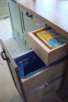 trash bin with drawer - Google Search