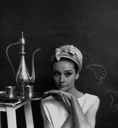 Audrey Hepburn & #tea