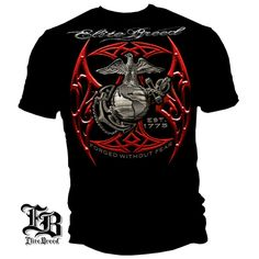 "Checkout our #LicensedGear products FREE SHIPPING + 10% OFF Coupon Code ""Official"" ELITE BREED USMC RED BLADES SILVER FOIL T- Shirt - ELITE BREED USMC RED BLADES SILVER FOIL T- Shirt - Price: $24.99. Buy now at https://officiallylicensedgear.com/elite-breed-usmc-red-blades-silver-foil-tshirt"
