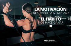 La motivación nos impulsa a empezar, el hábito nos hace ganar. #fitness #motivation #motivacion #gym #musculacion #workhard #musculos #fuerza #chico #chica #chicofitness #chicafitness #sport