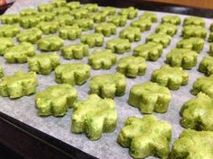 Eat.Play.Cook: Cook: Melt In The Mouth Green Pea Cookies