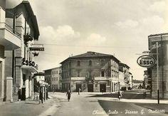 CHIUSI SCALO - Piazza G. Matteotti - Fine anni '50