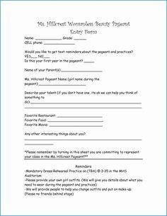 0c838e8869967896a0645ca81ddcec1e Talent Show Application Form Template on mortgage loan, simple account, gym membership, church membership, blank employment, free employee, internal job, blank membership, new vendor,