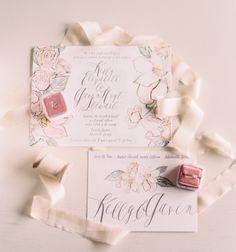 Pretty invitations.