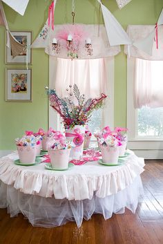 Fancy Pretty Table