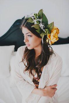 floral crown // stunning