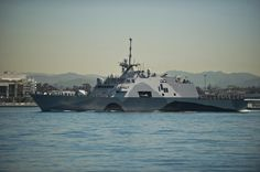 The Navy's first littoral combat ship USS Freedom (LCS 1) is underway on her maiden deployment.