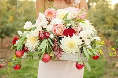 Apple orchard wedding inspiration | photo by Ashley Slater Photography | 100 Layer Cake
