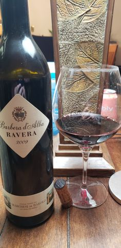 "Marchesi de Barolo Barbera d'Alba 2009 ""Ravera"" single cru #TaporVine #Wine #WineMaking #Drinking #GirlsWhoDrink #Booze Vines, Drinking, Bottle, Beverage, Drink, Flask, Arbors, Grape Vines, Jars"