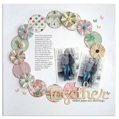 #papercraft #scrapbook #layout    Together