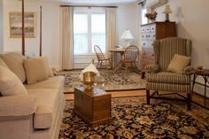 Greenbrier - Another of our renovated suites in the Carriage House