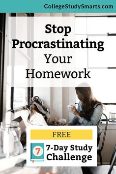 Stop procrastinating your homework. Learn simple strategies to help you take action (that isn't a struggle) and get results (like great grades). Exam Study Tips, Study Habits, Study Skills, College Humor, College Fun, College Tips, College Motivation, Study Motivation, Study Schedule