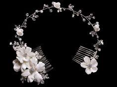 En Vogue Bridal Accessories HJ1335 Hair Jewelry