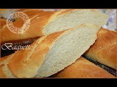 Recette de baguette maison/Homemade French baguette recipe - YouTube