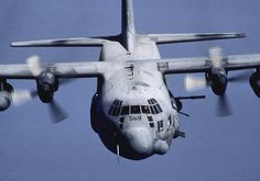 AC-130 Specture Gunship. Comes with your own electric 20mm gatlin gun, 40mm cannon,FLIR camera, Flares, anti-rocket chaf etc. They saved many cut off troops and are still out there supporting spec ops