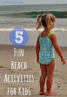 5 fun beach activities for kids