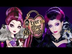 Ever After High Makeup: Raven Queen Thronecoming! - YouTube