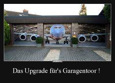 Das Upgrade für's Garagentoor ! | Lustige Bilder, Sprüche, Witze, echt lustig