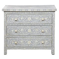 Trellis Chest - Grey $1199.00 too beautiful #zgallerie