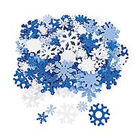Looking for great Christmas centerpiece ideas? Look no further than this Blue Glitter Snowflake Centerpiece! Perfect for your holiday party tables, this ...