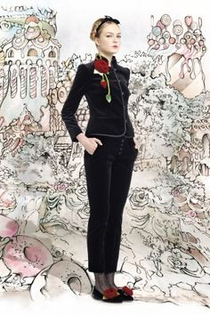 Red Valentino Fall 2013 Collection - Fashion | Popbee