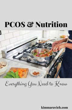 PCOS (polycystic ovarian syndrome) is a metabolic condition that affects not only the ovaries but insulin regulation and weight control as well. Topics discussed: hormones, menstrual cycle, nutrition, carbohydrates, weigh gain, acne, hirsutism, cravings, hypoglycemia, good fats, lean protein, anti-inflammatory foods, inflammation Polycystic Ovarian Syndrome, Low Blood Sugar, Pcos Causes, Healthy Food, Healthy Recipes, Anti Inflammatory Recipes, Big Meals, Menstrual Cycle, Weight Control