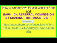 14 Best Get Your Own Free Rotator and Bitcoin Faucet List