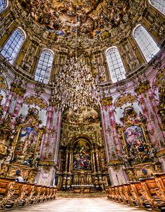 Ettal abbey inside by Ditze.deviantart.com