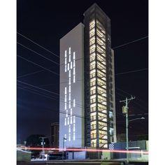 Torre 13 | 2014 | @matlatinamerica  Tomada a las 11:00pm  #Maracaibo #zulia #venezuela #2015  #artchitecture #arquitectura #architecture #architettura #architektura #architektur #night #nightphotography #facade #history #longexposure  #streetphotography #photograph  #igersvenezuela #ig_maracaibo #ig_venezuela #building #history #urbanexploration #archdaily by josbelchacon