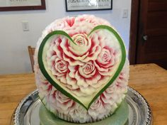 Watermelon carving for wedding.
