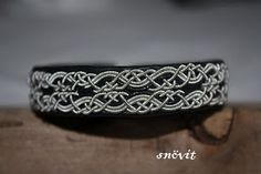 Snöflinga sami tin thread bracelets by Snövit