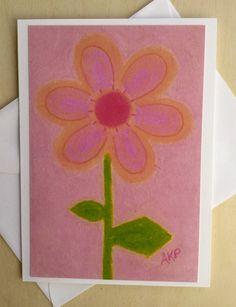 Stationery Cards Set of 10 - Gentle Pink Junior Petal