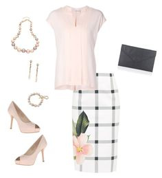 """""""Untitled #112"""" by caitlin-ross-1 on Polyvore featuring Ted Baker, Vince, Nine West, Lipsy and Carolee"""