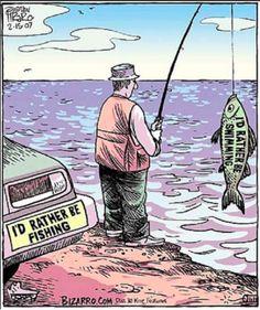 I'd rather be swimming <3 by cartoonist & fellow vegan, Dan Piraro! #MyVeganJournal