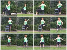 Chair Yoga by Gail Pickens-Barger, Yoga with Gaileee, Get Fit Where You Sit Chair Yoga Fitness Teacher.