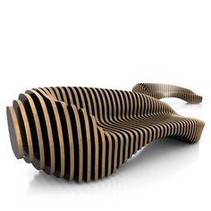 'Slide' by Kohta Creative Studio.... DIY with CNC