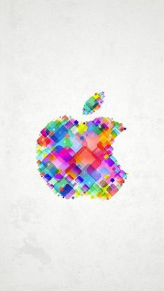 My iPhone 4 Wallpaper - the one I just liked! Apple Logo Wallpaper Iphone, Best Iphone Wallpapers, More Wallpaper, Cellphone Wallpaper, Colorful Wallpaper, Pattern Wallpaper, Wallpaper Backgrounds, Iphone Backgrounds, Apple Iphone