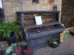 tiled piano