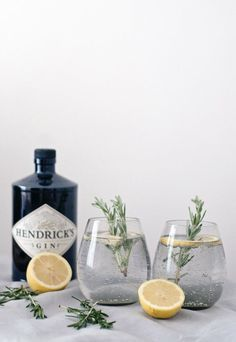 Few things beat lazing around on a long summer evening with a drink in hand. My go-to tipple at this time of year is an ice-cold gin and tonic, and I love experimenting with different ways to jazz it up. So, I thought I'd share a fewof my favouriteconcoctions… Lemon and rosemary For a simple …