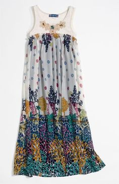 Truly Me Maxi Dress (Little Girls & Big Girls) available at #Nordstrom I want this for Kapri right now