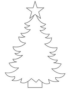 Best 12 37 Christmas Tree Templates In All Shapes and Sizes: Printable Christmas Tree Template from Pattern Universe – SkillOfKing. Preschool Christmas, Christmas Activities, Felt Christmas, Christmas Printables, Christmas Colors, Christmas Projects, Christmas Holidays, Christmas Decorations, Christmas Ornaments