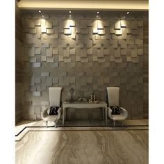 @Overstock.com - 3D 'Cubes' Wall Panels (Set of 10) - Add a modern, textured look to an empty wall surface by installing this set of 10 decorative 3d wall panels. Designed to be cultivated into a work of art, this set of wall cubes can be painted or implemented into any decorative theme. http://www.overstock.com/Home-Garden/3D-Cubes-Wall-Panels-Set-of-10/8198227/product.html?CID=214117 $79.99