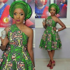 One sleeve dress/Ankara gown/African dress/One shoulder African Inspired Fashion, Latest African Fashion Dresses, African Print Dresses, African Print Fashion, African Dress, African Attire, African Wear, African Women, African Style