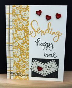 Simon Says Stamp Card Kit - Sending Happy Mail