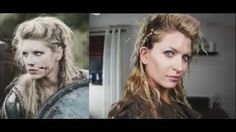 lagertha hair tutorial - YouTube