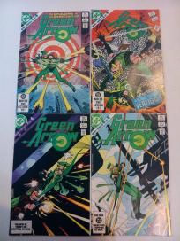 THE COMPLETE SERIES OF ALL 4 COMICS - GREEN ARROW #1-4 (DC 1983) *FREE SHIPPING* ... OWN THEM ALL